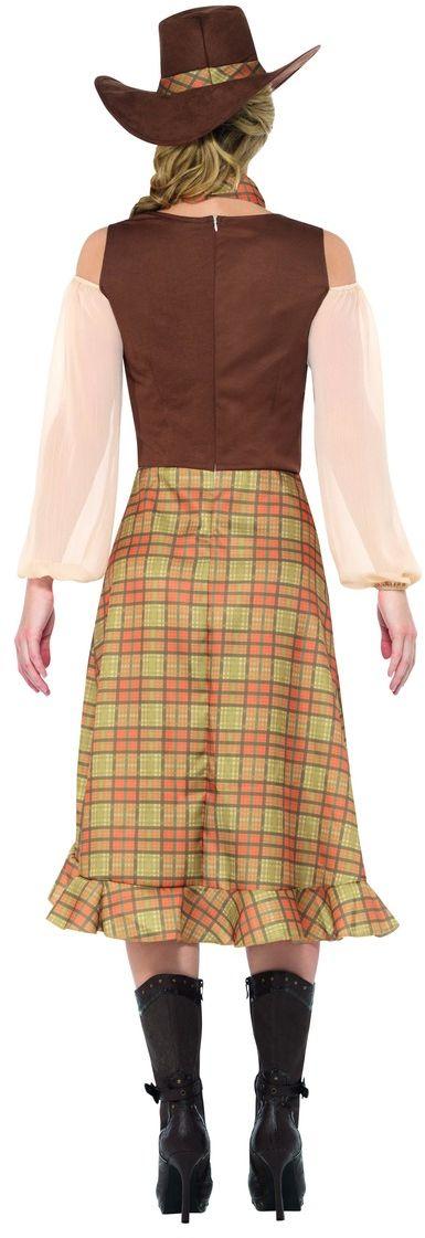 Lange cowgirl jurk