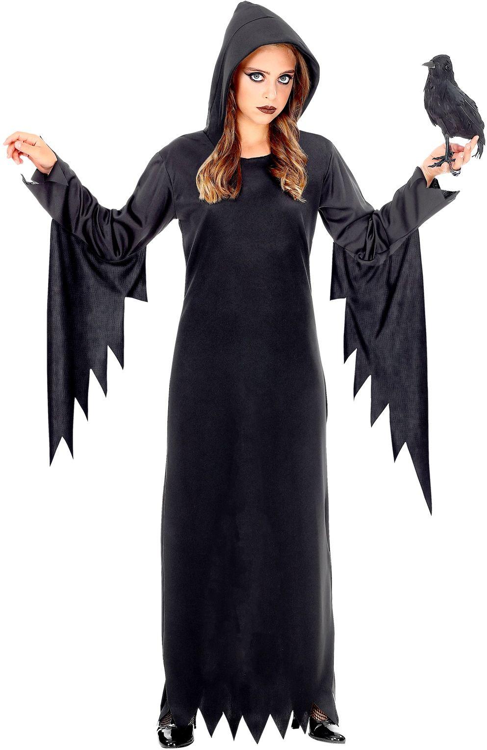 Lange gothic jurk meisjes
