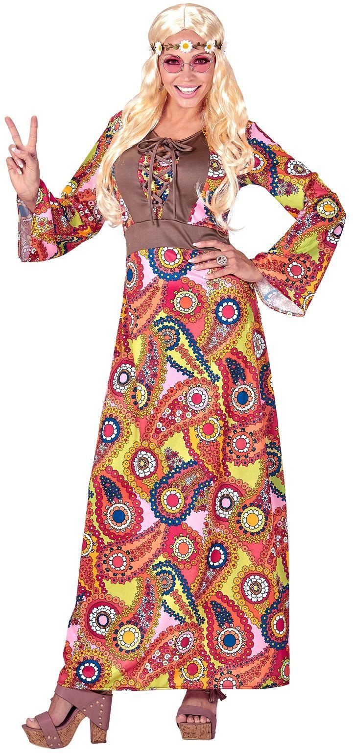 Lange hippie jurk dames