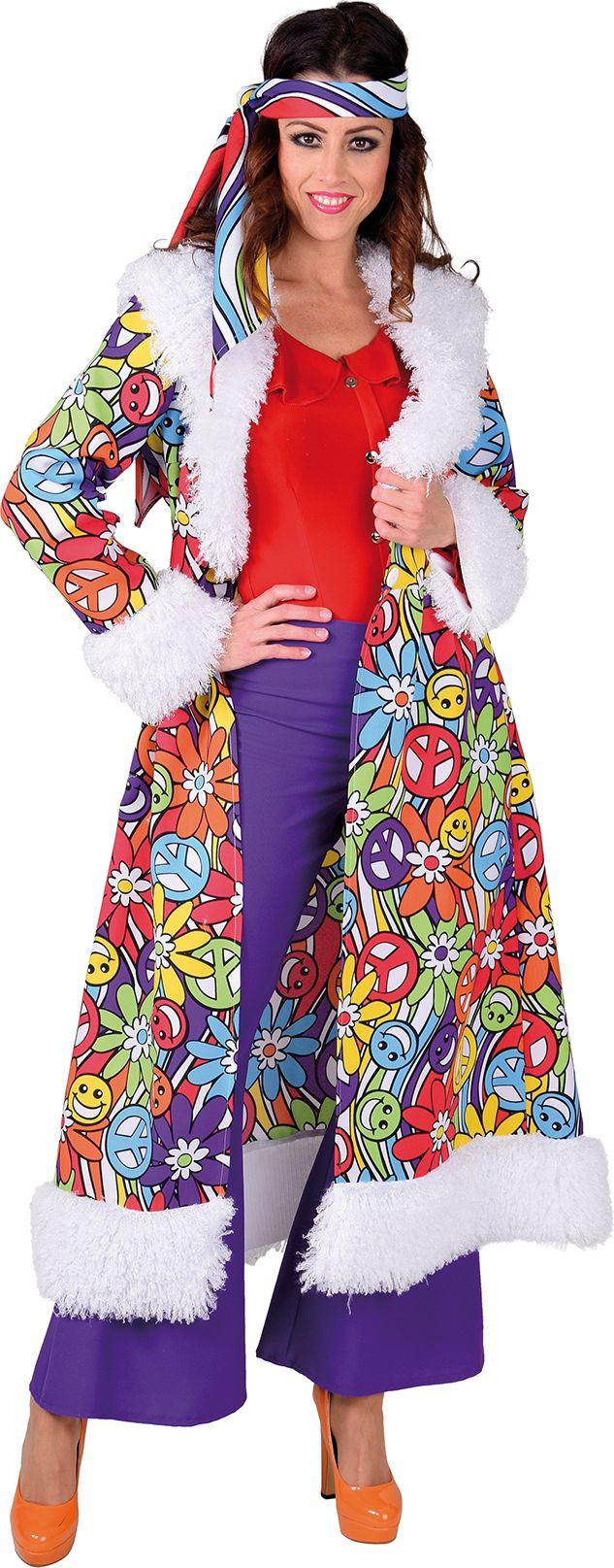 Lange hippie mantel dames