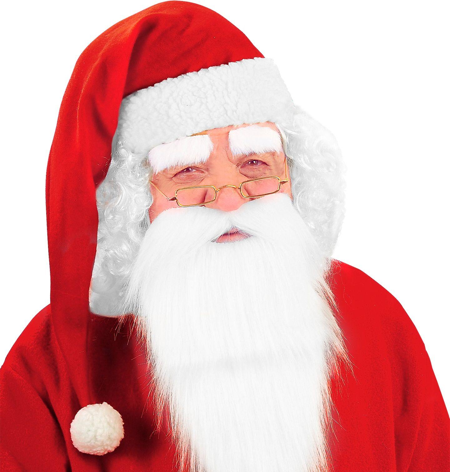 Lange kerstman muts