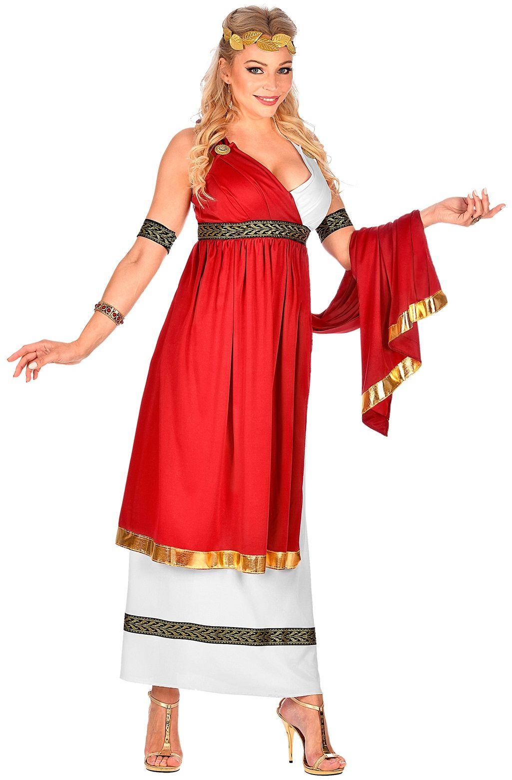 Lange romeinen jurk
