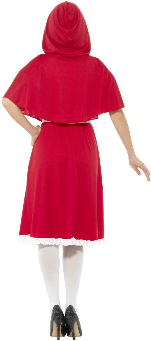 Lange roodkapje outfit