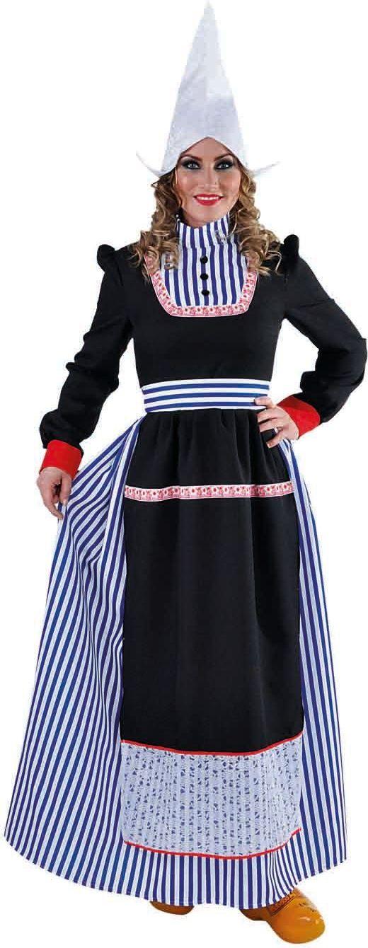Lange Volendamse jurk dames