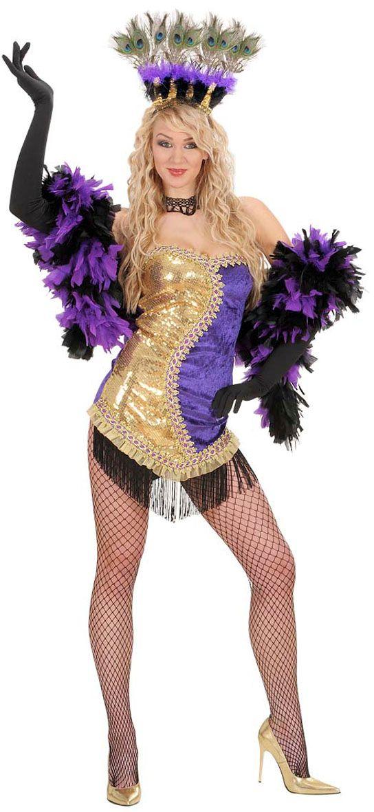 Las Vegas showgirl kostuum