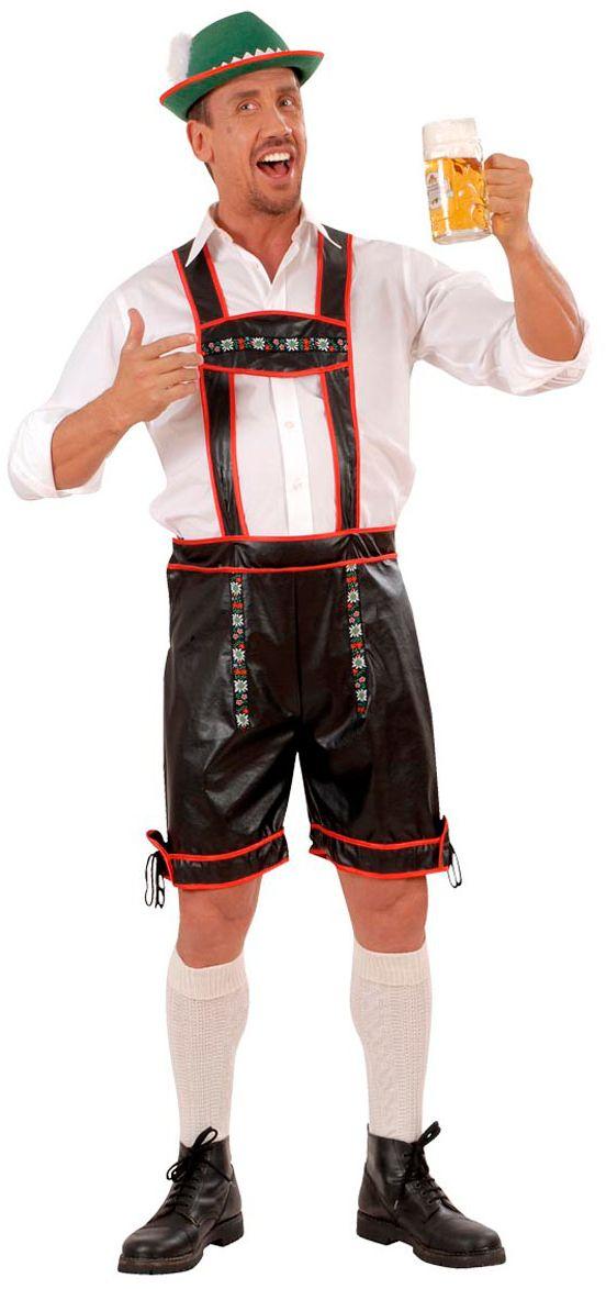 Lederhose lederlook kostuum