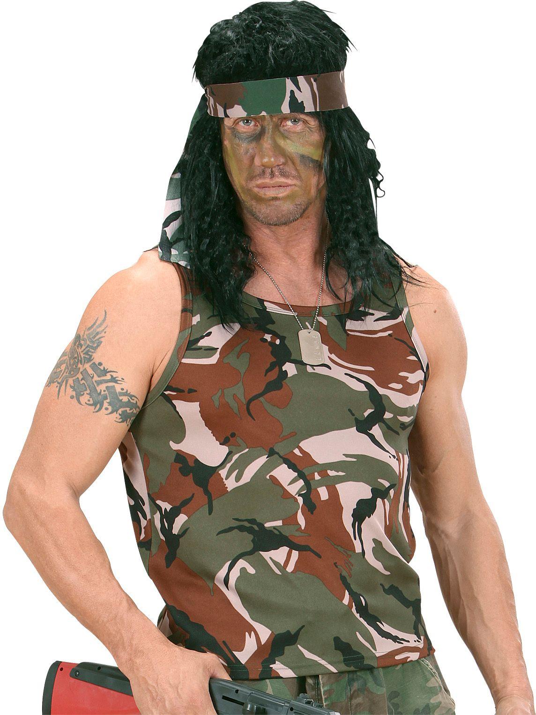 Leger camouflage hemd