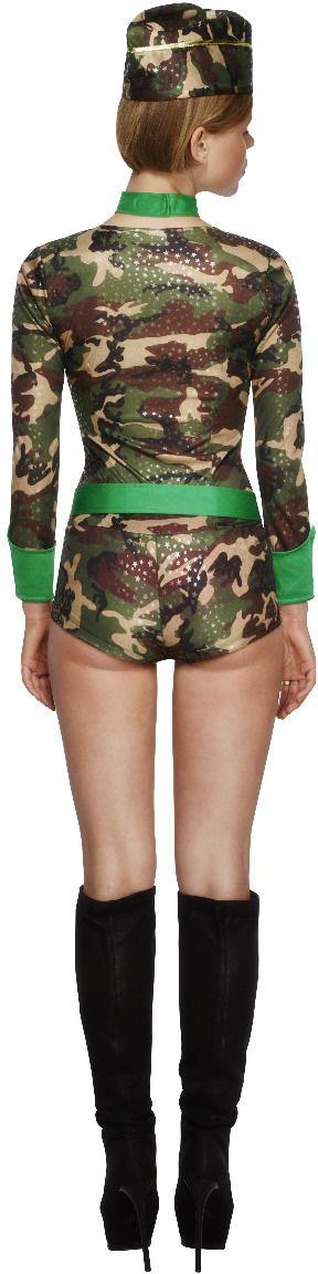 Leger camouflage kostuum dames