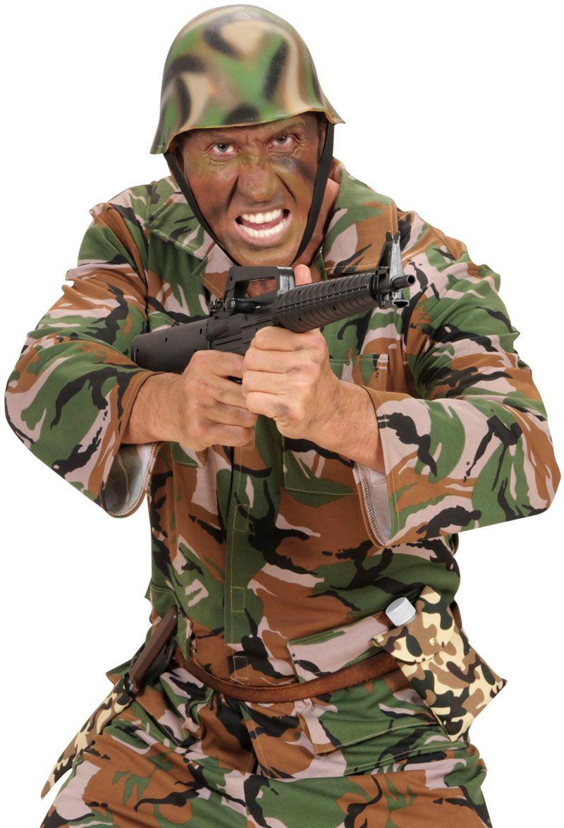 Leger drinkfles met camouflage