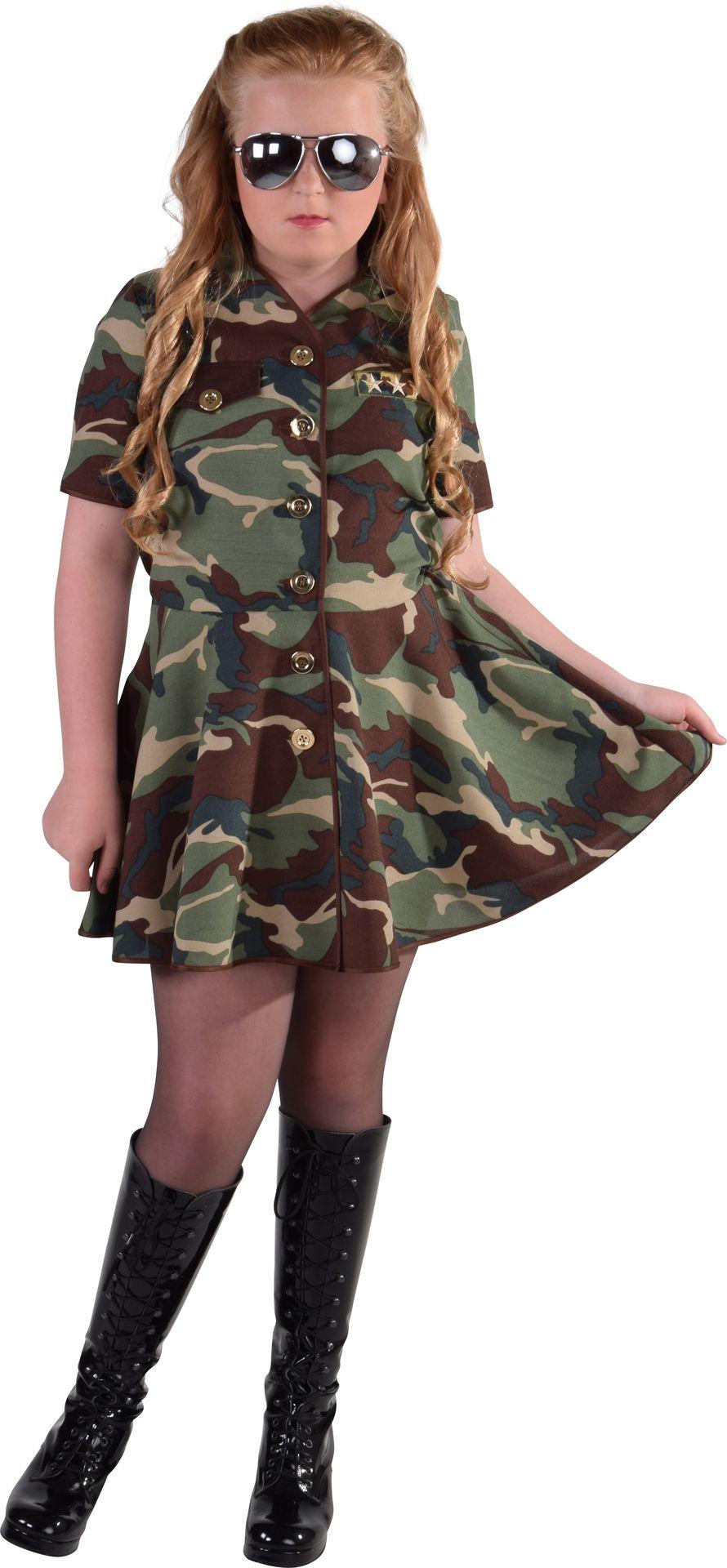 Leger jurk meisjes