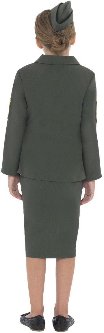 Leger meisje WO II outfit