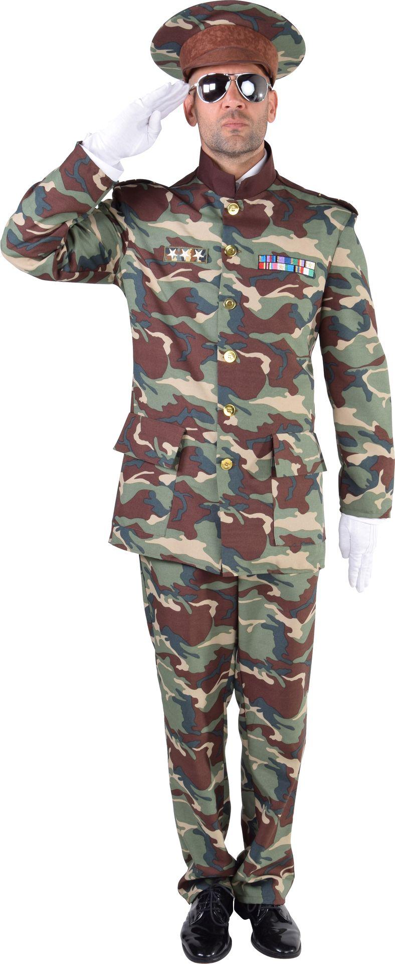 Leger officiers kostuum mannen