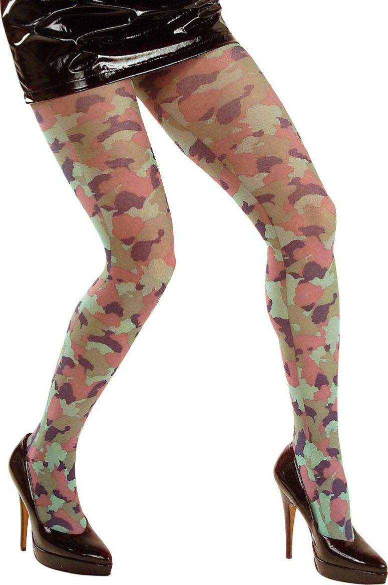 Leger panty camouflage
