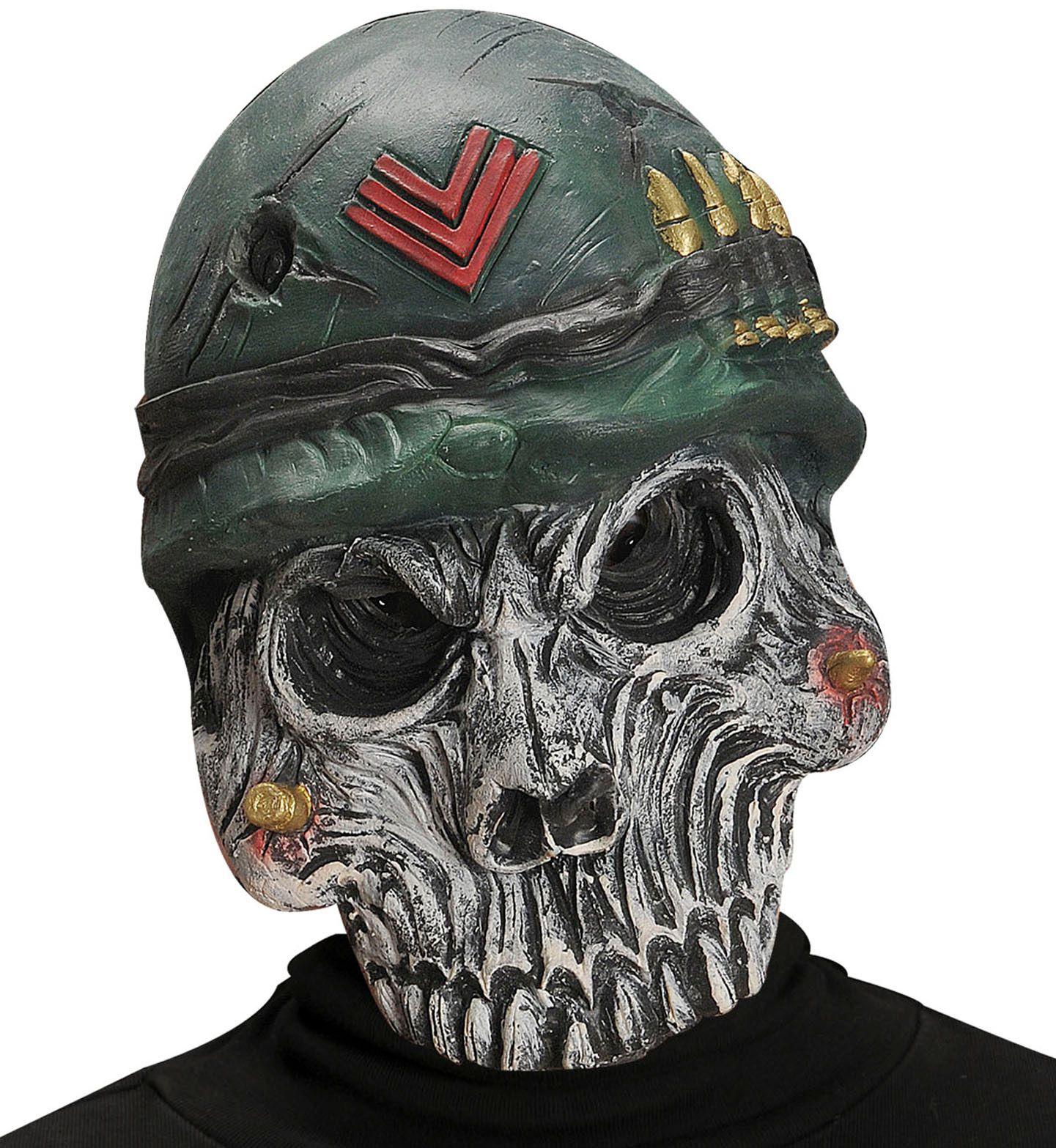 Leger schedel masker