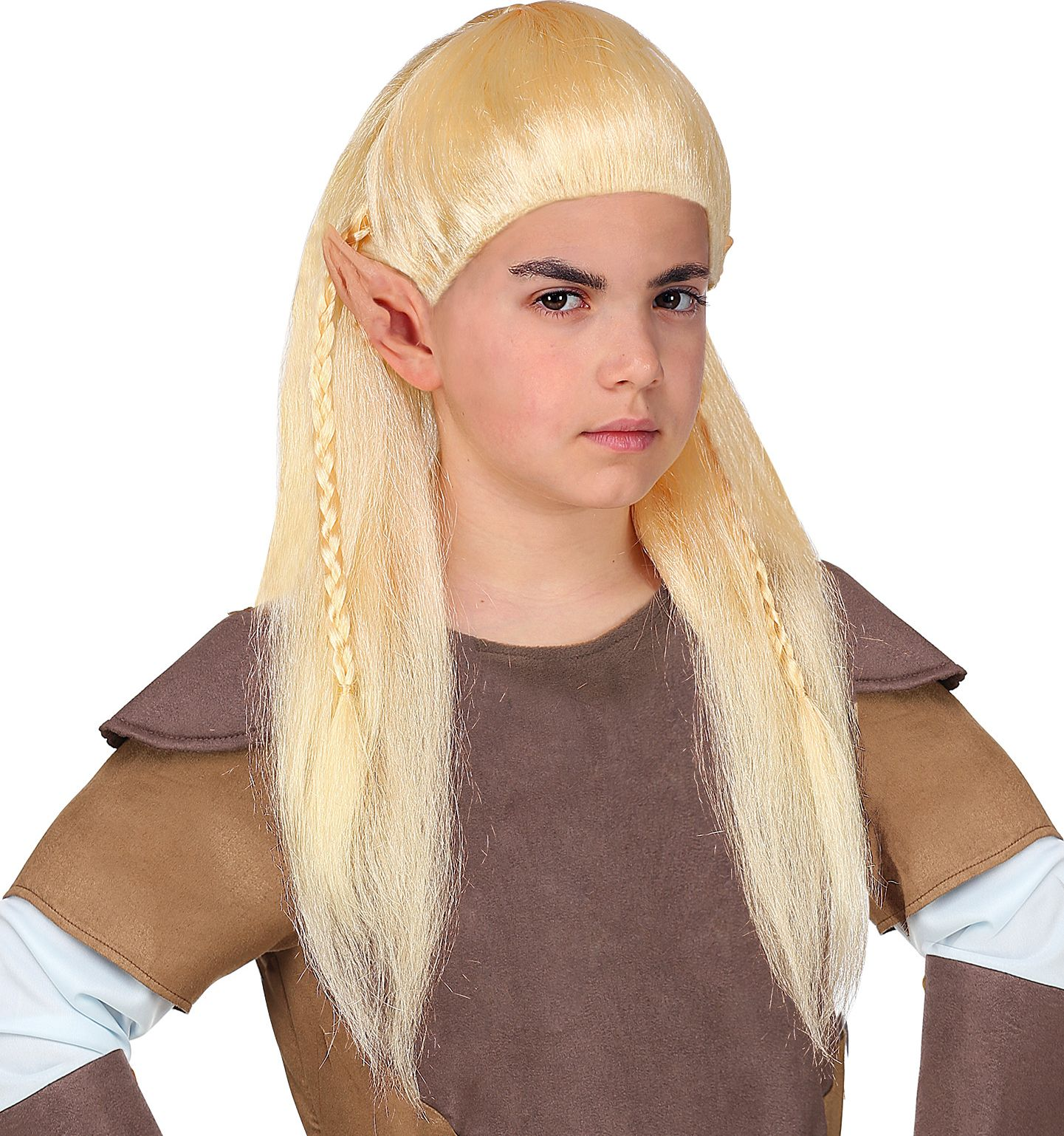 Legolas elf pruik kind