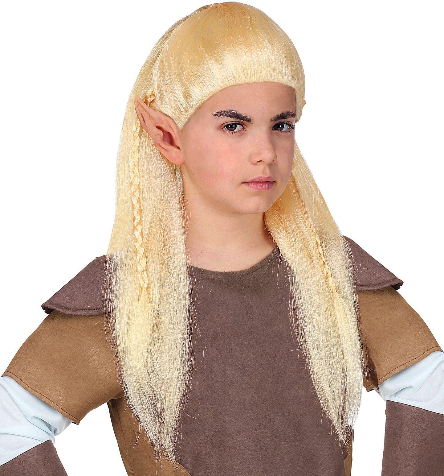 Legolas elf pruik kind