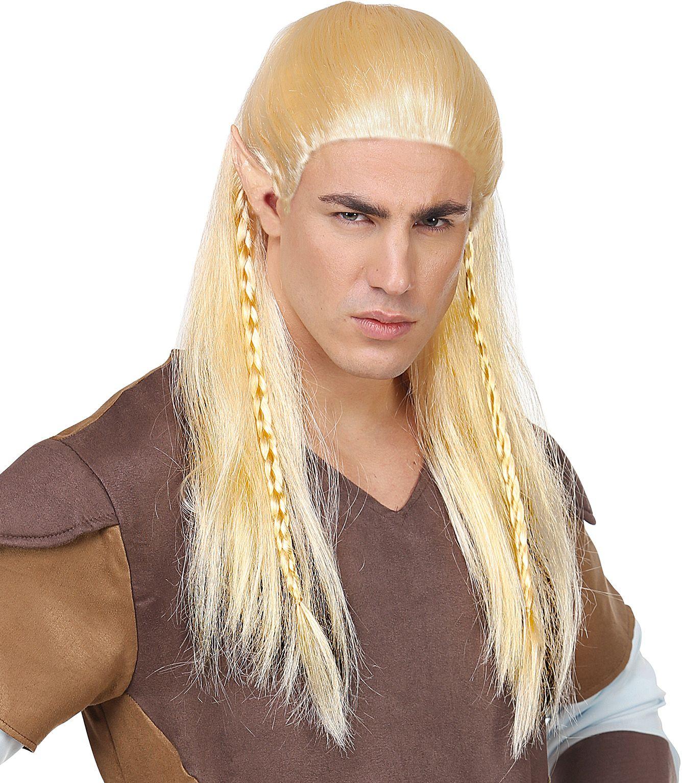 Legolas elf pruik mannen
