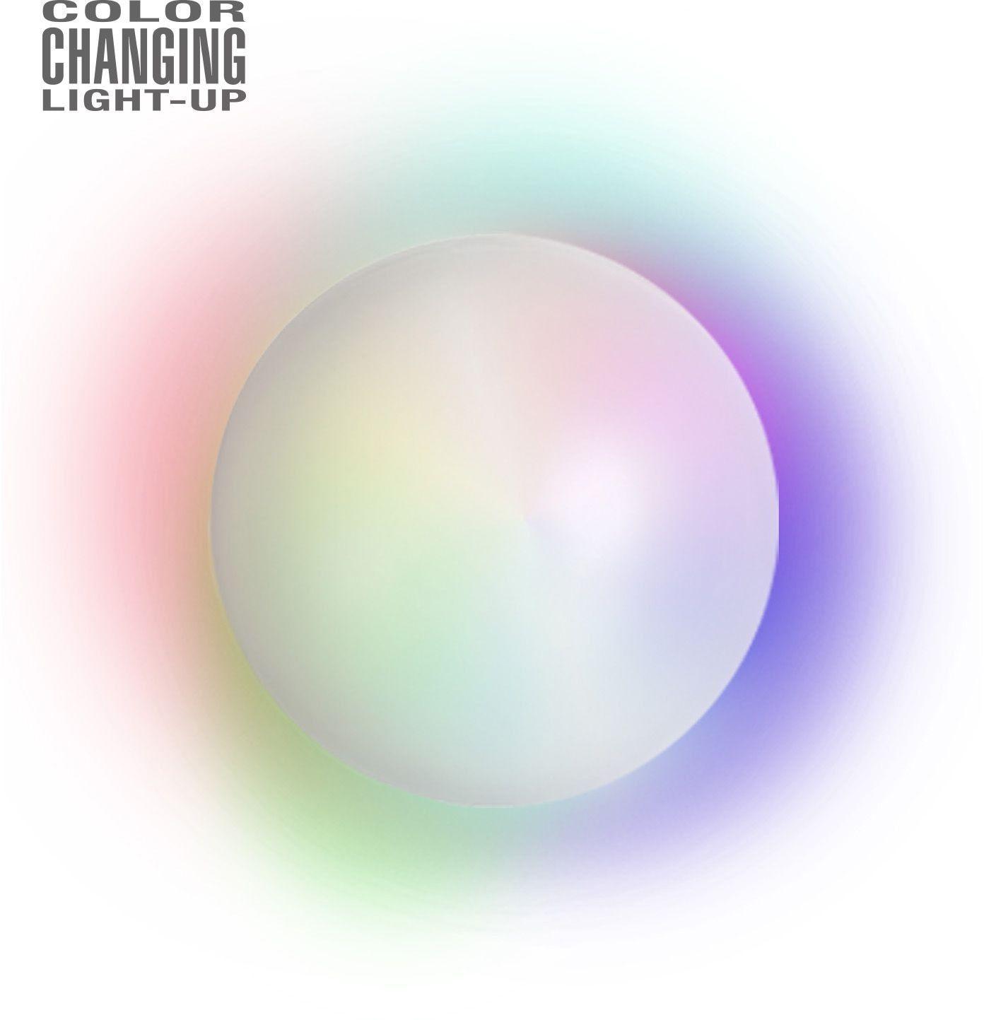 Lichtgevende kristallen bol