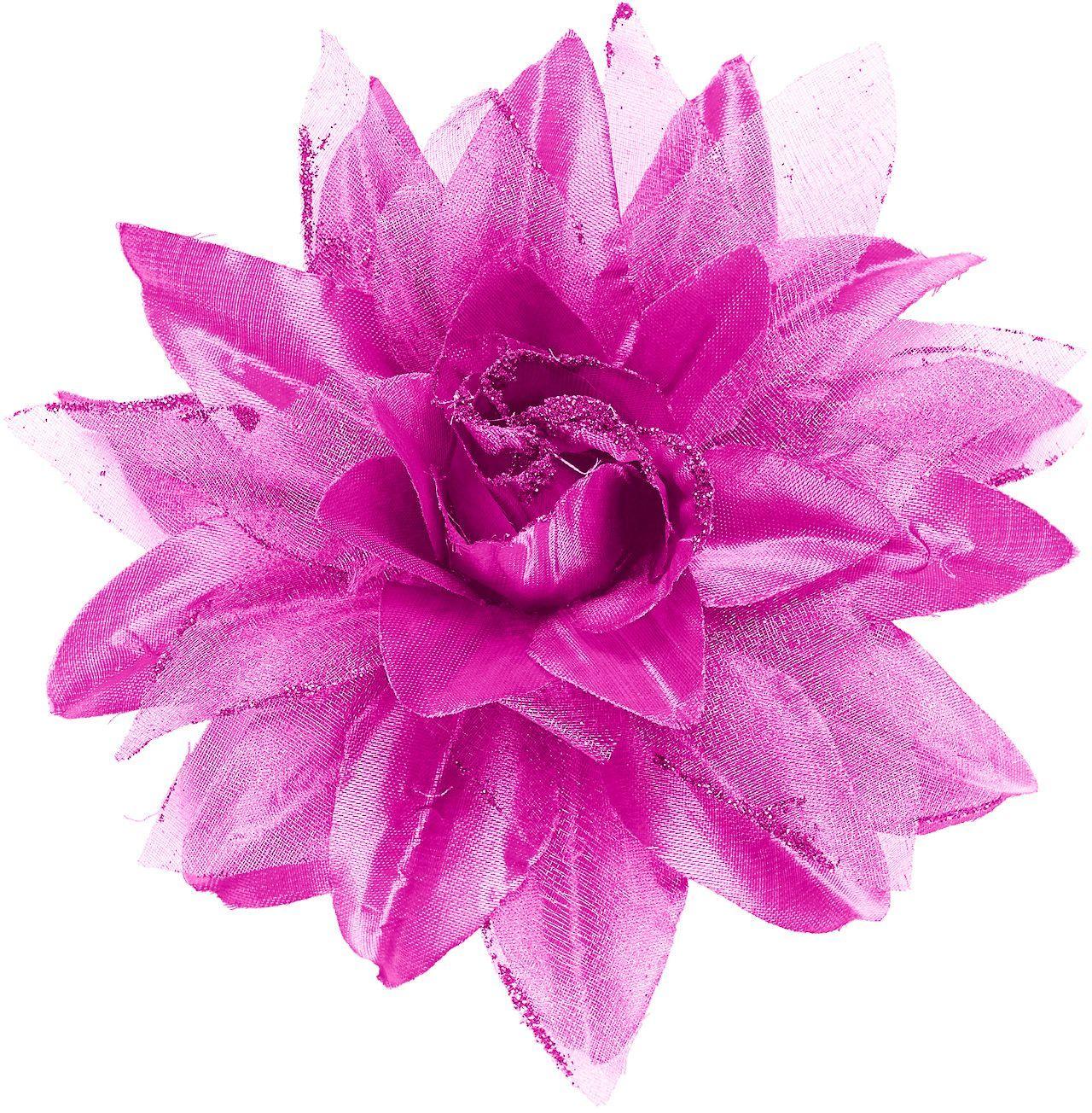 Lichtpaarse bloem haarclip