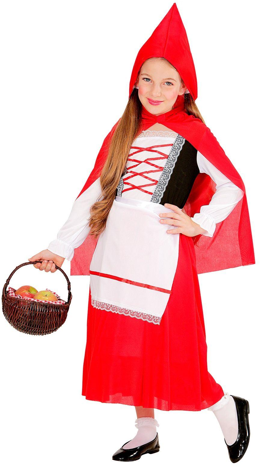 Lief roodkapje kostuum