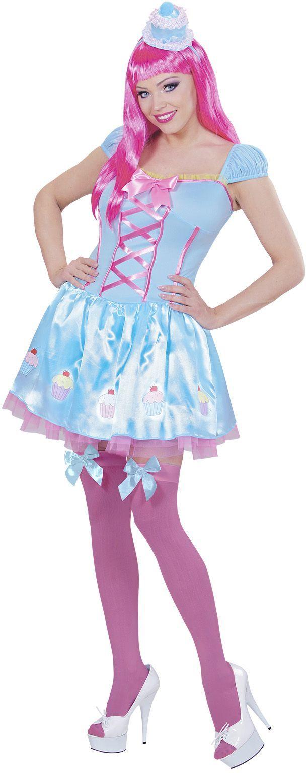 Lollypop jurk met mini hoed