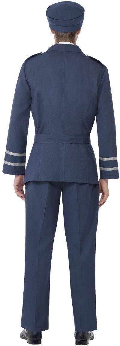 Luchtmacht leider kostuum man