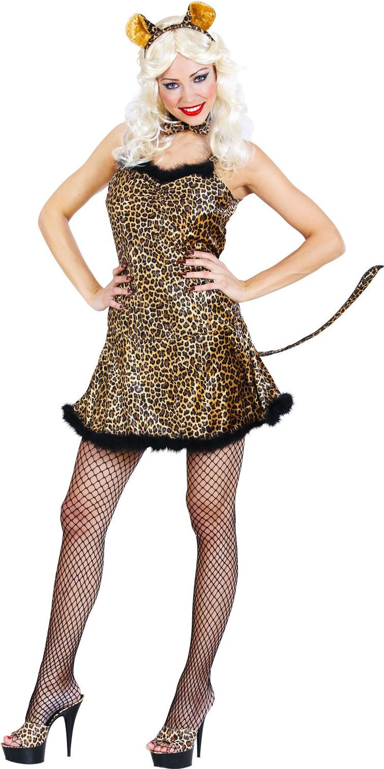Luipaard jurkje