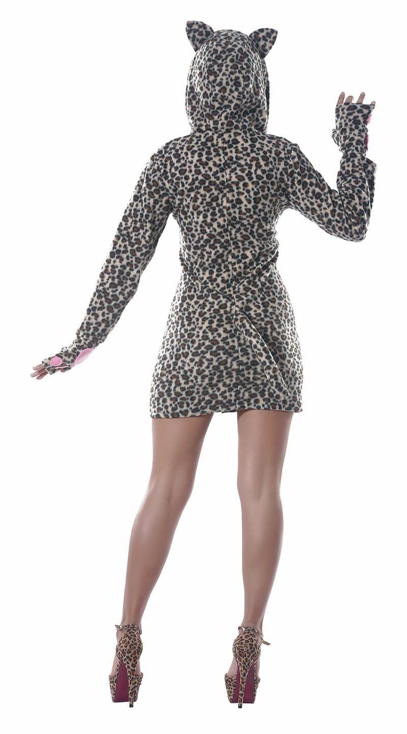 Luipaard jurkje dames