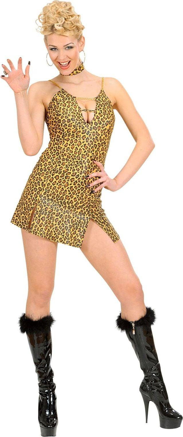 Luipaard print jurkje