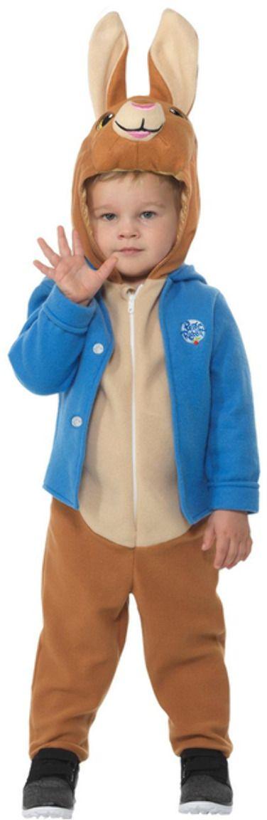 Luxe blauwe Peter Rabbit onesie
