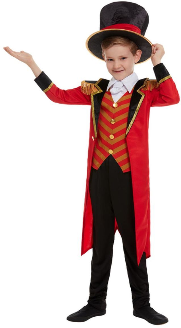 Luxe circus directeur kostuum