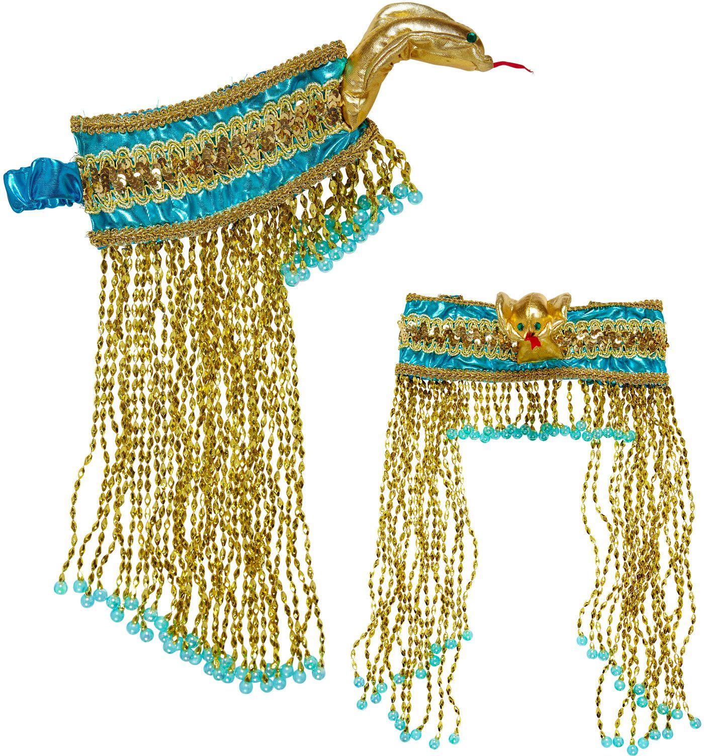 Luxe cleopatra hoofdband