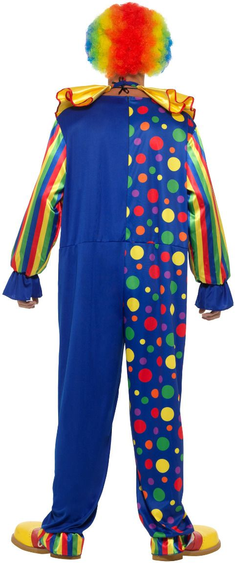 Luxe clown jumpsuit mannen