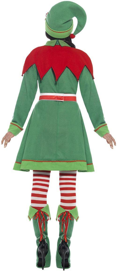 Luxe dames elfen kostuum