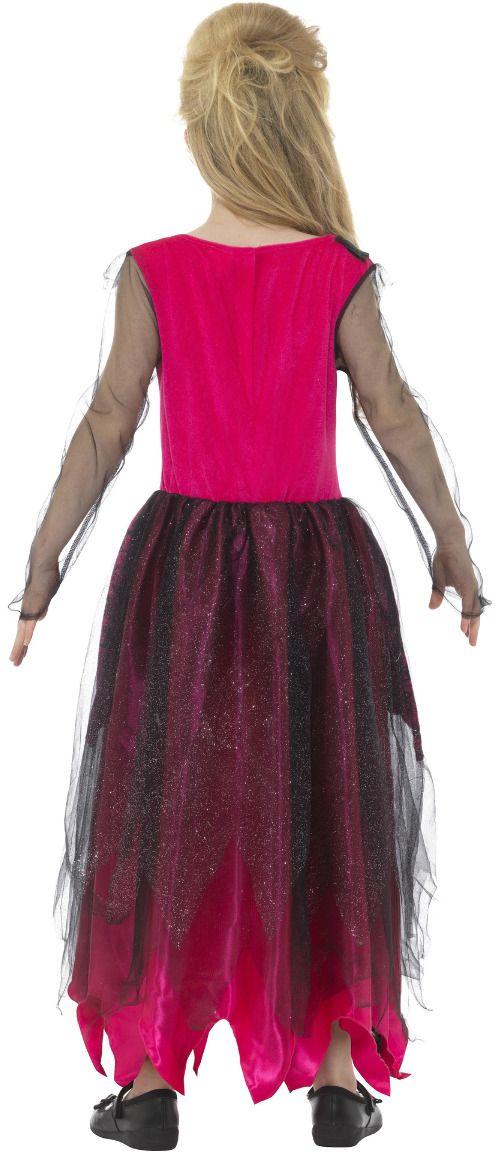 Luxe gothic prom queen kostuum