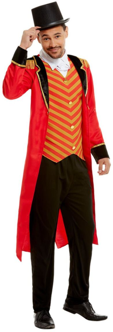 Luxe heren showman ringmaster outfit