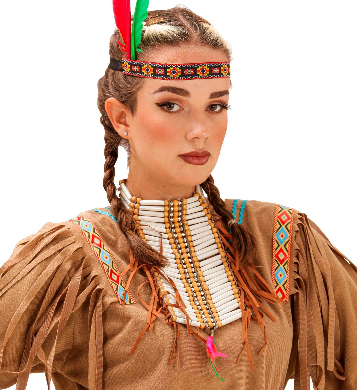 Luxe indianen nekband-borstsierraad