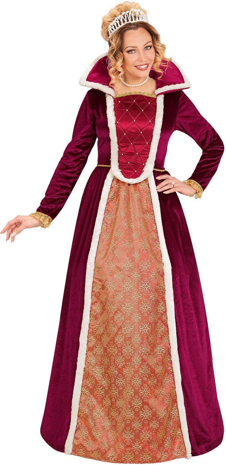 Luxe koningin kostuum