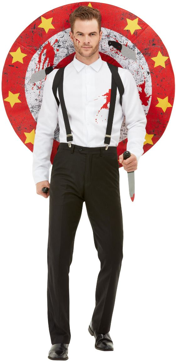 Luxe messenwerper heren kostuum