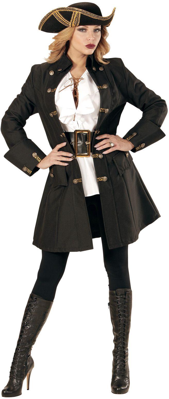 Luxe piraten jas dames