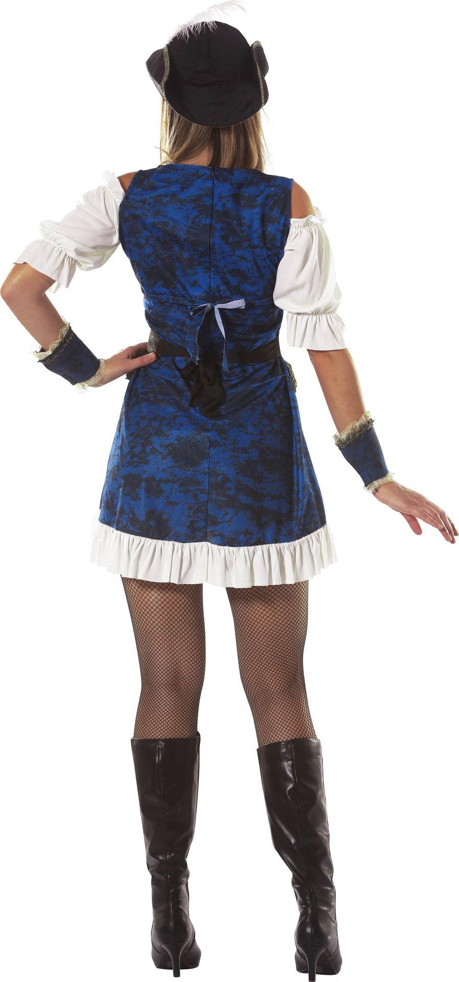 Luxe piraten jurk