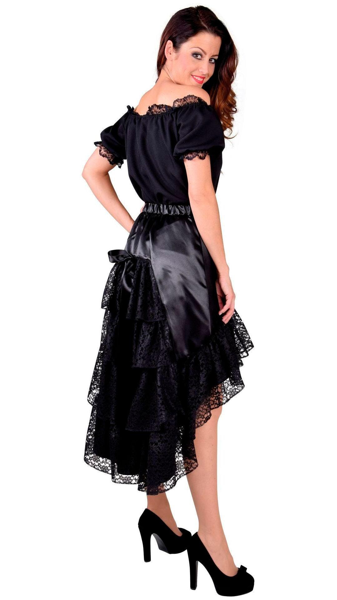 Luxe rok zwart dames