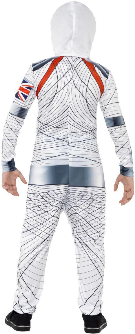 Luxe ruimtevaarder jongens pak