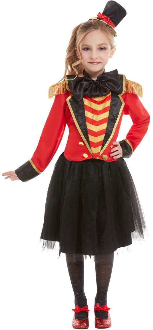 Luxe showman circus jurkje meisjes