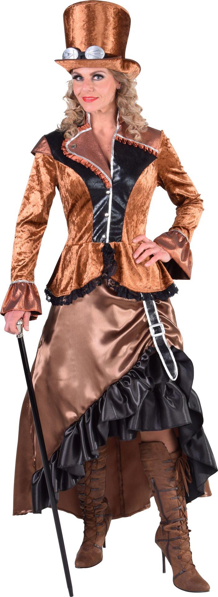Luxe Steampunk jurk