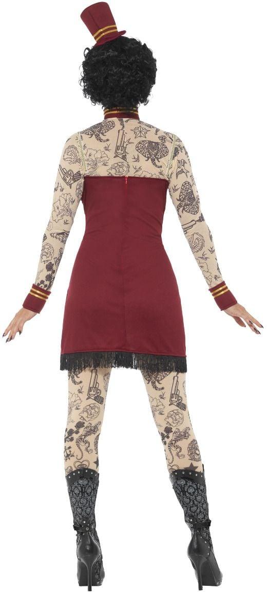 Luxe tattoo vrouw kostuum