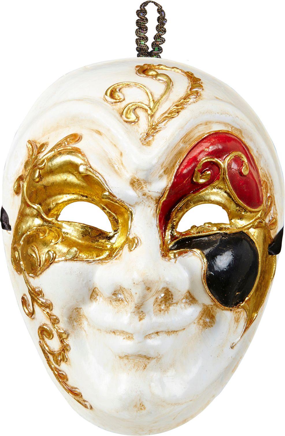 Luxe venetiaanse nar masker