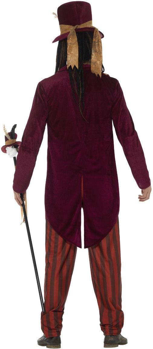 Luxe voodoo heks dokter kostuum