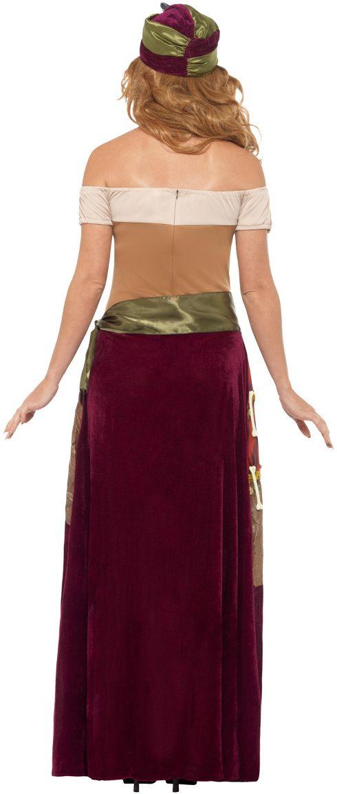 Luxe voodoo priester dames kostuum
