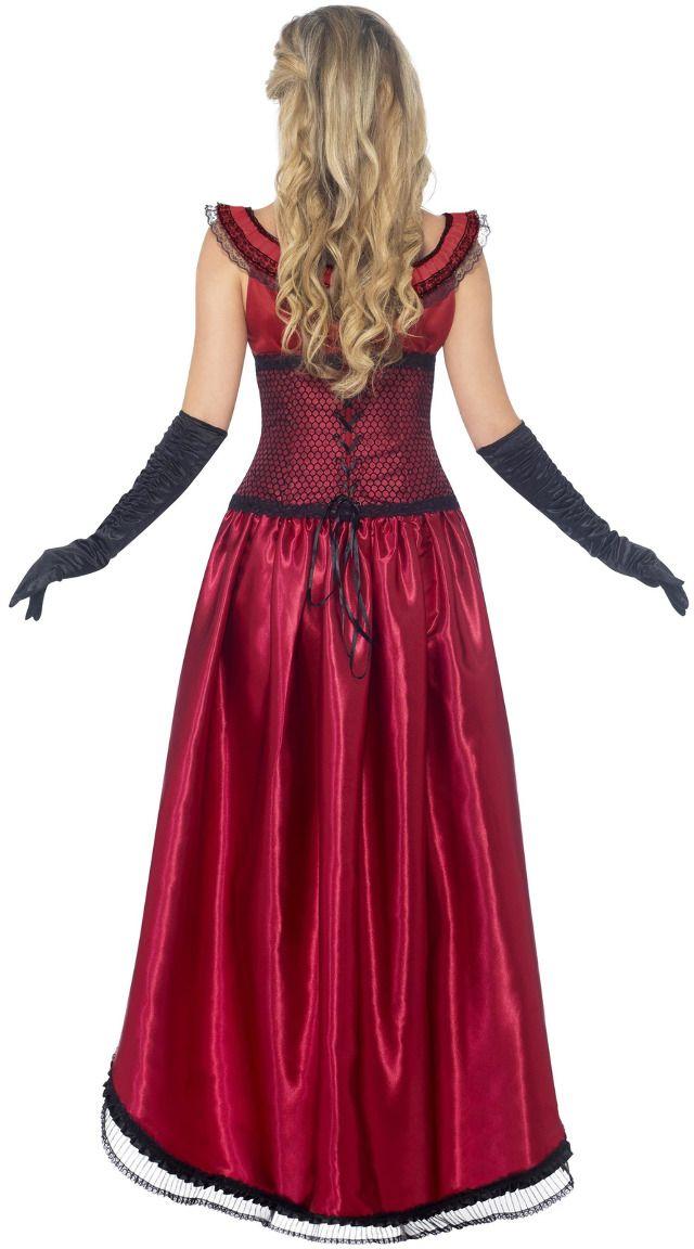 Luxe western saloon babe kostuum